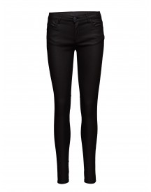 Nicole 108, Mat Black Coated, Pants 2nd One Jeans afbeelding