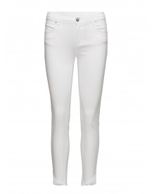 Nicole 862 Crop, Pure White Raw, Jeans 2nd One Jeans afbeelding