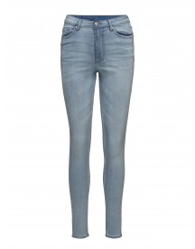 High Snap Powder Blue Cheap Monday Jeans afbeelding