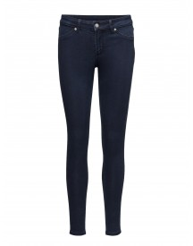Mid Spray Solid Blue Cheap Monday Jeans afbeelding