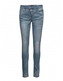 Carrie Denim Jeans Cream Jeans afbeelding