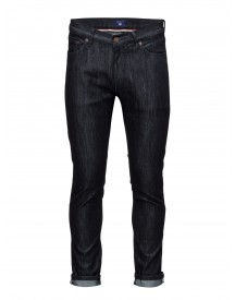 O2c. Slim Tapered Commuter Jean Gant Jeans afbeelding