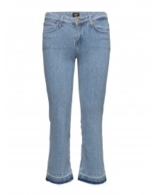 Cropped Boot Bleached Stone Lee Jeans Jeans afbeelding
