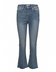 Sflana Xhr Bootcut Cropped Hush Blue Ex Selected Femme Jeans afbeelding