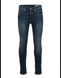 Shnonefabios 1413 Mid.blue St Jeans Noos Selected Homme Jeans afbeelding