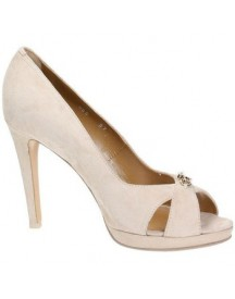 Pumps 4us Cesare Paciotti Hh0d5 Open Toe Women Leather afbeelding