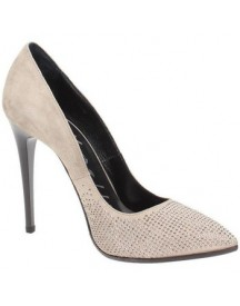 Pumps Andrea Morelli Lm72696 Court Shoes Women Leather Sand afbeelding