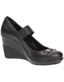 Pumps Byblos Blu Xm62036e Court Shoes Women Leather Black afbeelding