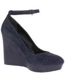 Pumps Fabi Fd1890a Court Shoes Women Leather Blue afbeelding