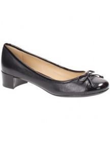Pumps Geox D44v8c0tu66c9999 Flats Women Leather Black afbeelding