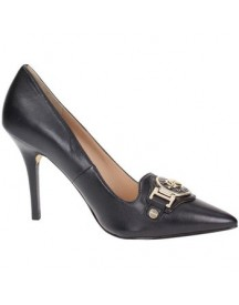 Pumps Guess Fl4jrdlea08 Court Shoes Women Leather Black afbeelding
