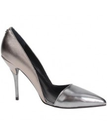 Pumps Guess Fl6baelem08 Court Shoes Women Leather Silver afbeelding