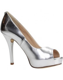 Pumps Guess Flhel1lel07 Open Toe Women Leather afbeelding