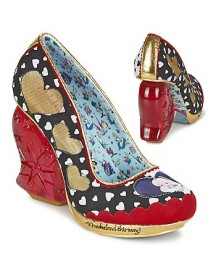 Pumps Irregular Choice Alice Queen Of Hearts afbeelding