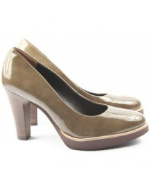 Pumps Paul Green Dames Pump 3210 Taupe afbeelding