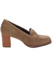 Pumps Tommy Hilfiger Fw56817738/niomi1b Loafers Women Split Leather Nut Brown afbeelding