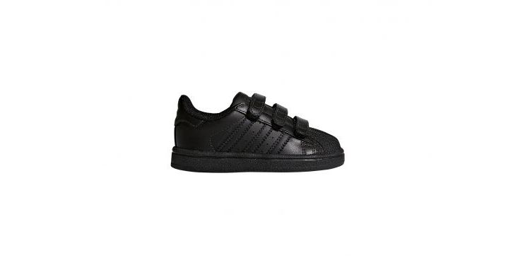 Image Adidas - Superstar Cf Infant - Zwarte Sneaker
