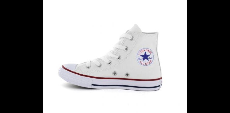 Image Converse - Chuck Taylor All Star Hi - Witte Hoge All Stars
