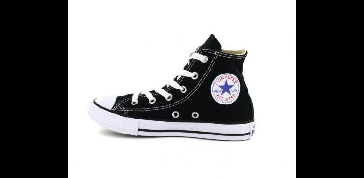 Image Converse - Chuck Taylor All Star Hi - Zwarte All Stars