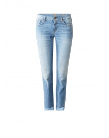 7 For All Mankind Roxanne Mid Rise Cropped Slim Fit Jeans afbeelding