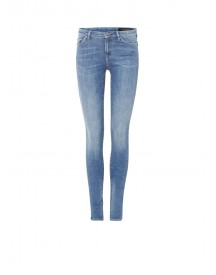Allsaints Grace Mid Rise Skinny Jeans afbeelding