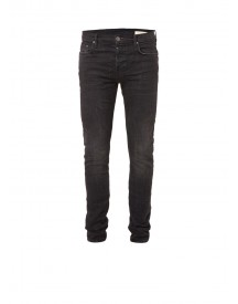 Allsaints Print Cigarette High Rise Skinny Jeans afbeelding