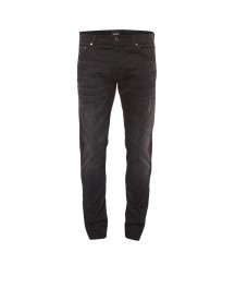 Chasin' Ego Pete Mid Rise Slim Fit Jeans Met Donkere Wassing afbeelding