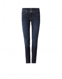 Claudia Sträter Cambio Mid Rise Slim Fit Jeans afbeelding