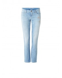 Claudia Sträter Modern Rise Slim Fit Jeans Met Borduring afbeelding