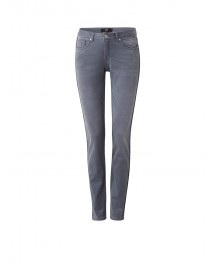 Dept Mid Rise Slim Fit Jeans Met Faded Look afbeelding