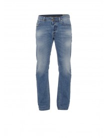 Diesel Waykee Regular-straight Fit Jeans 0842h afbeelding
