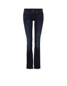 G-star Raw Midge Low Rise Bootcut Jeans In Donkere Wassing afbeelding