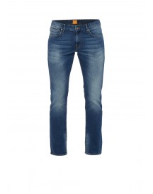 Hugo Boss Orange24 Barcelona Regular Fit Faded Jeans afbeelding