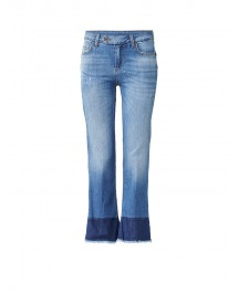 Liu Jo Microflair Mid Rise 7/8 Flared Jeans afbeelding