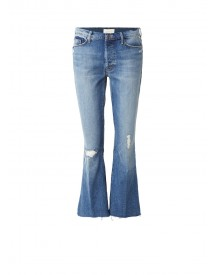 Mother High Rise Croppped Flaired Jeans afbeelding