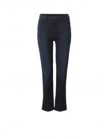 Mother Swooner High Rise Bootcut Cropped Jeans afbeelding