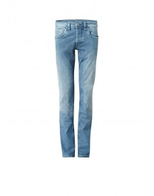Pepe Jeans Cash Mid Rise Regular Fit Jeans In Faded Look afbeelding