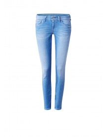 Pepe Jeans Cher Low Rise Cropped Skinny Jeans Met Ritsdetails afbeelding