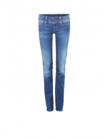 Pepe Jeans Gen Mid Rise Straight Jeans Met Faded Look afbeelding