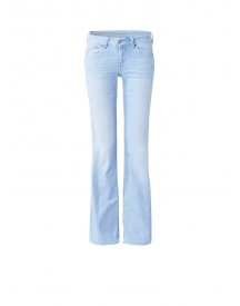 Pepe Jeans Pimlico Low Rise Flared Jeans Met Faded Look afbeelding