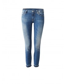 Ralph Lauren Morgan Mid Rise Cropped Skinny Jeans afbeelding