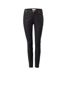 Ted Baker Aissats High Rise Skinny Jeans Met Wax Coating afbeelding