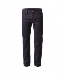 Ted Baker Obtest Mid Rise Straight Fit Jeans In Donkere Wassing afbeelding