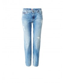 Tommy Hilfiger Suky High Rise Straight Fit Enkel Jeans afbeelding