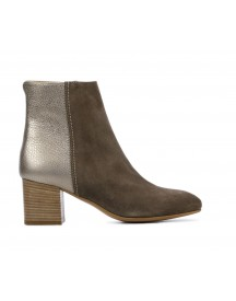 Lamica Booties Dames (taupe) afbeelding