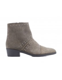 Lina Locchi Booties Dames (taupe) afbeelding