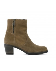 Messa Di Due Booties Dames (taupe) afbeelding