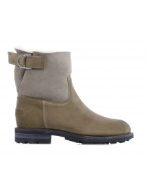 Shabbies Amsterdam Booties Dames (taupe) afbeelding