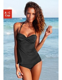 Lascana Beugeltankini In Bandeaumodel afbeelding