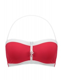 Seafolly Block Party Bikinitop Chilli Red afbeelding